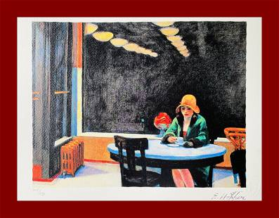 Edward Hopper - Automat