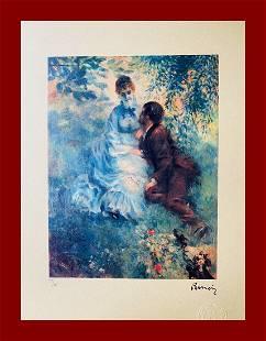 Pierre-Auguste Renoir - Lovers