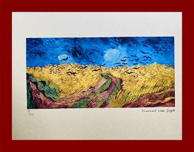 Vincent Van Gogh - Wheatfield with Crows