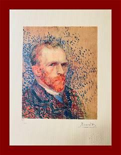 Vincent Van Gogh - Selfportrait