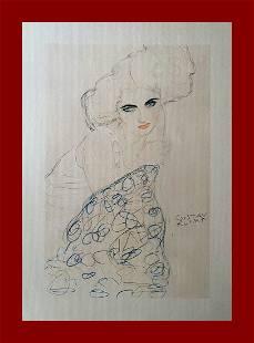 Gustav Klimt - Portrait of a Woman