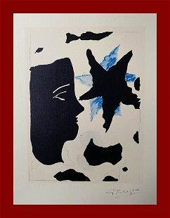 Georges Braque - Head and Star