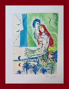 Marc Chagall - Siren and Poet in Côte d'Azur