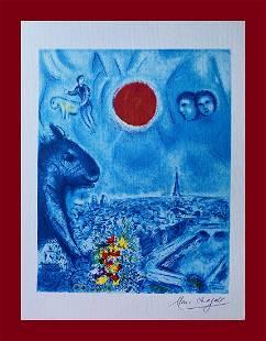 Marc Chagall - The Sun of Paris