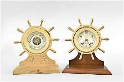 "Chelsea Clock Co., Boston, Mass., ""Yacht Wheel or"