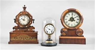 Three American Shelf Clocks including Seth Thomas
