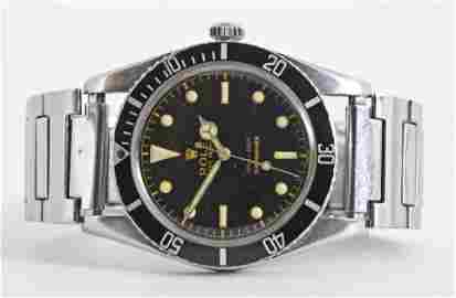 A rare Rolex Submariner ref. 6536-1 wrist watch