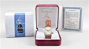 A Hamilton electric Nautilus 404 model wrist watch