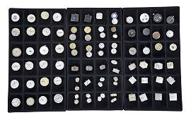 Large lot of wrist watch movements, cases, dials and