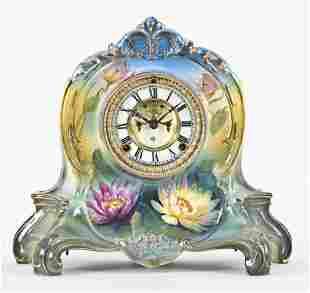 Ansonia Clock Co. La Riviere mantel clock