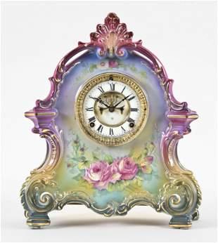 Ansonia Clock Co. La Bretagne Royal Bonn mantel clock