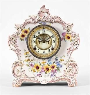 Ansonia Clock Co. La Vogue Royal Bonn mantel clock