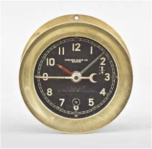Chelsea Clock Co. Marine hanging ship's clock