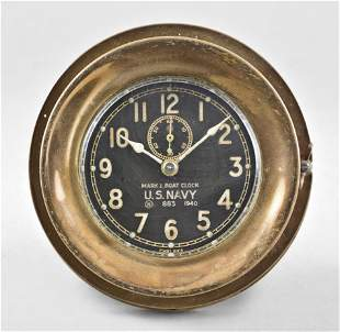 Chelsea Clock Co. Mark I Boat Clock