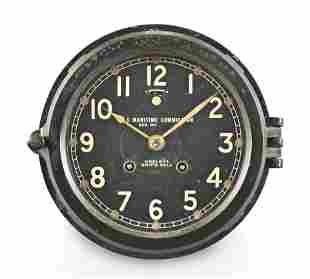 Chelsea Clock Co. Deck or Engine room clock