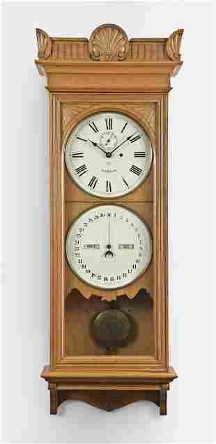 Seth Thomas Clock Co. Office Calendar No. 12 wall clock