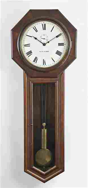 Seth Thomas Clock Co. Regulator No. 18 wall clock