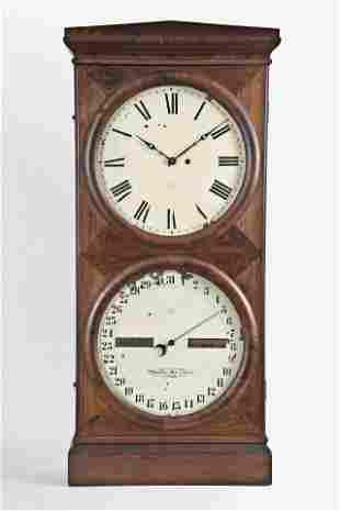 Seth Thomas Clock Co. Office Calendar No. 2 Shelf Clock