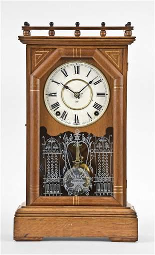Seth Thomas Clock Co. City Series Omaha mantel clock