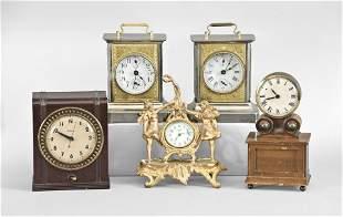 Twelve Desk, Table and Wall Clocks