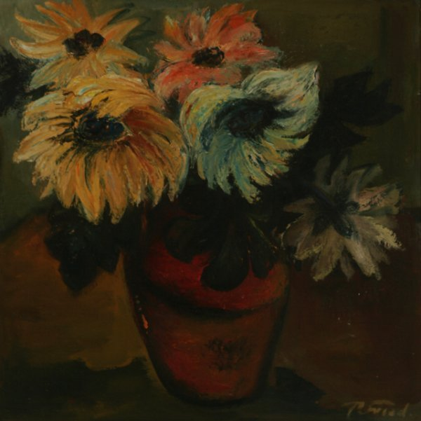 101: THEODORE FRIED Flowers Oil