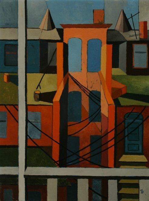 109: JANET EMMERICH Modernism Oil