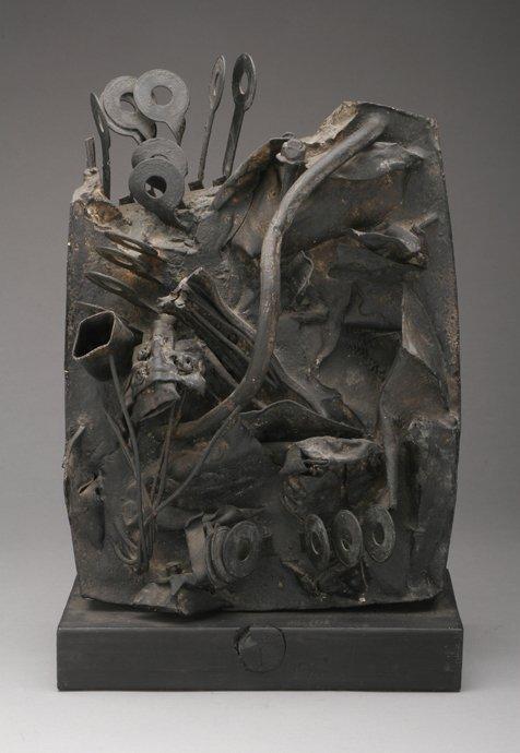 111: HARRY BOURAS New Terrain 1964 Sculpture