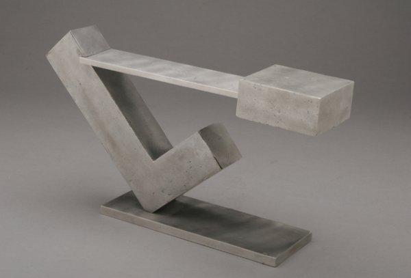 117: MENASHE KADISHMAN Floating 1971 Sculpture