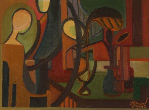 118: JOSE BERNAL Firefly Game Modernism 1942