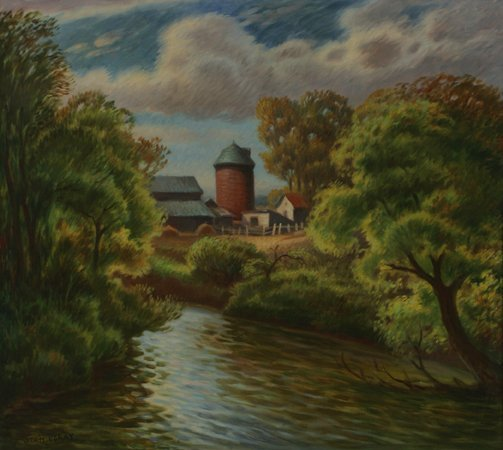119: STANISLAUS STAN PORAY Landscape