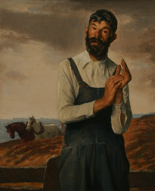 123: IVAN OLINSKY Farmer Roscoe Oil Vose Galleries
