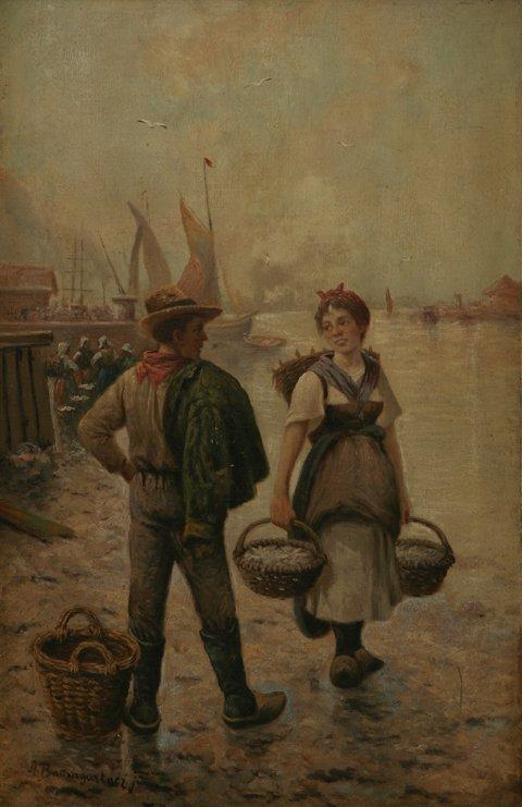 208: ADOLF CONSTANTINE BAUMGARTNER Oil