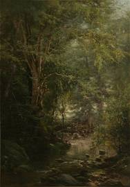 369: ARTHUR PARTON 19th C. American Landscape Painting