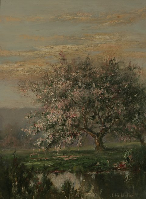 1: JD HULISTIN Landscape Oil