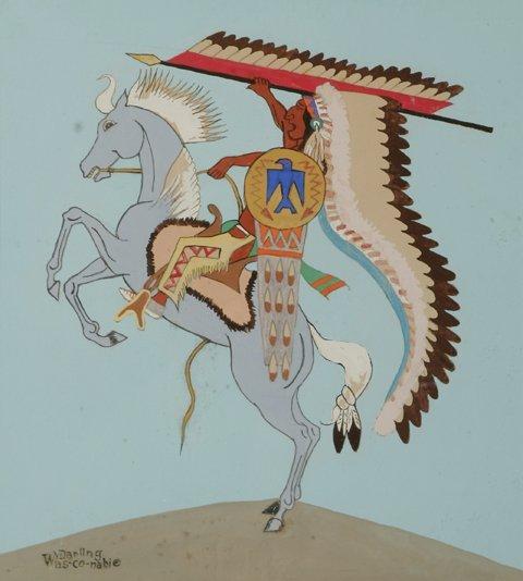 4: WILLIAM DARLING Warrior on Horse