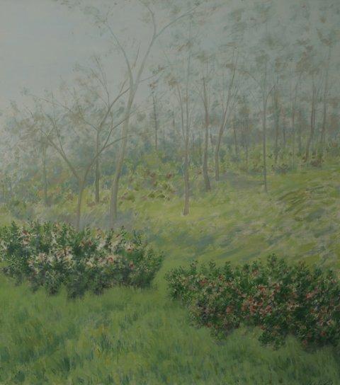 18: SIDNEY LOEB Landscape Oil Painting