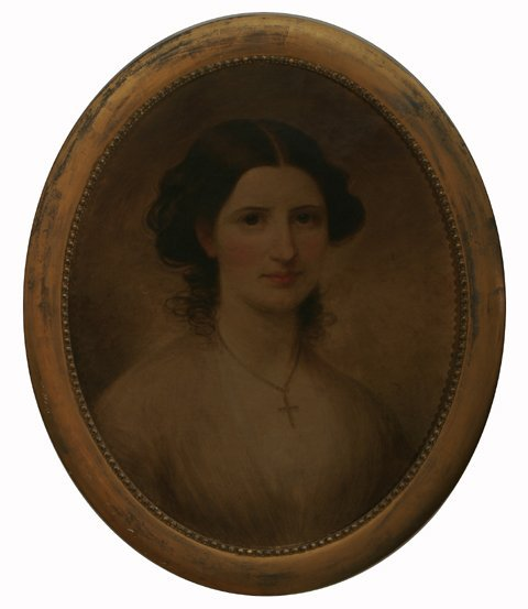 19: JAMES S. LINCOLN Portrait of Mary Anne Fitch Westco