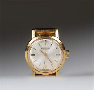 Longines yellow gold (18k) wristwatch