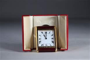Cartier alarm clock in its original box