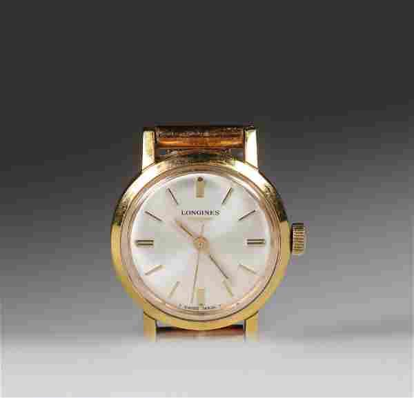 Longines yellow gold (18k) wristwatch