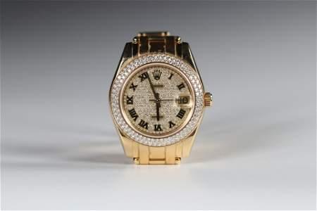 ROLEX Lady DateJust Magnificent ROLEX lady's watch,