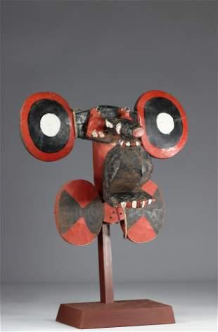 Very beautiful Bidjogo- Guinnee Bissau mask, Portuguese