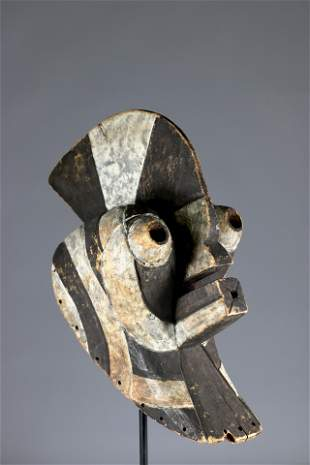 Imposing Songye Kifwebe mask - Africa DRC - mid 20th