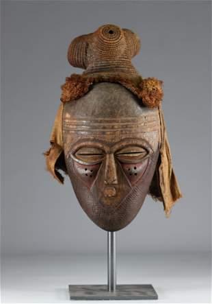 Kete mask - Kuba - mid 20th century - DRC - Africa