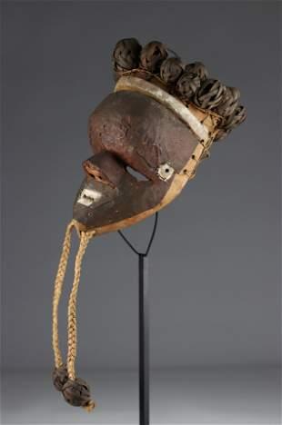 Salampasu copper mask, colonial collection