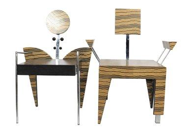 Chairs (2) Design Axel Hutter Grenzformen Raumconcept