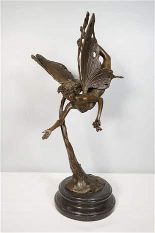 Angel Bronze Statue