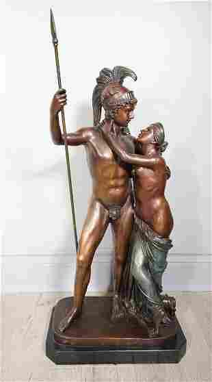 Figurative Bronze Statue