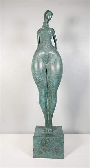 Abstract Figurative Bronze Statue