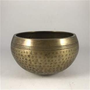 Copper Singing Bowl
